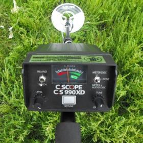 Écran de contrôle du CS 990XD