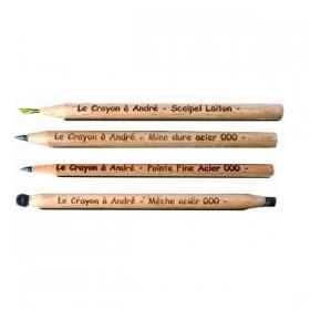 Lot de 4 crayons André