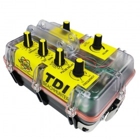 Les contrôles du détecteur de métaux TDI Beach Hunter