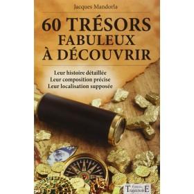 60 trésors fabuleux à découvrir, le livre
